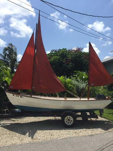 Drascombe Lugger, 1972 sailboat