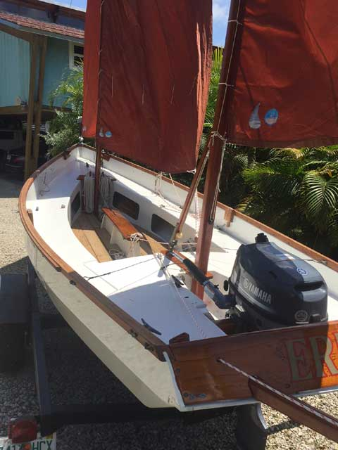 Drascombe Lugger, 1972 sailboat