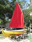 1983 Drascombe Scaffie sailboat