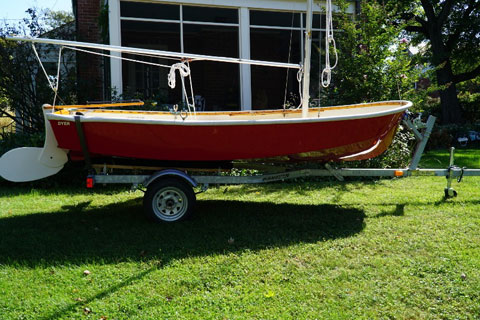 Dyer Dhow 12.5 Dinghy, 1989 sailboat