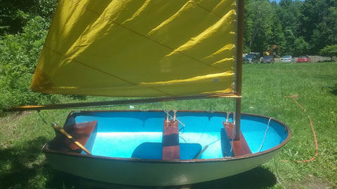 Dyer Dhow 9 ft., 1984 sailboat