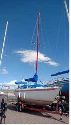 Ericson 25 sailboat