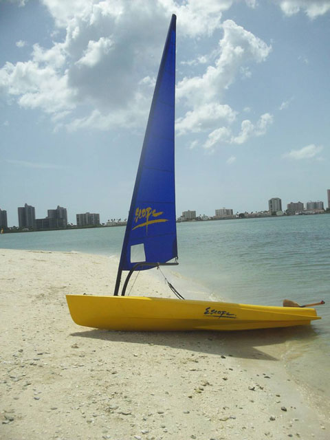 Escape Rumba sailboat