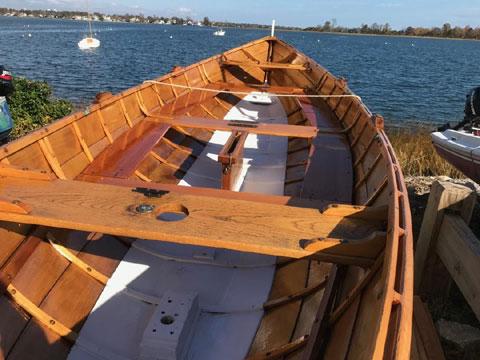 Norse Faering rowing/sailing boat, 2010 sailboat