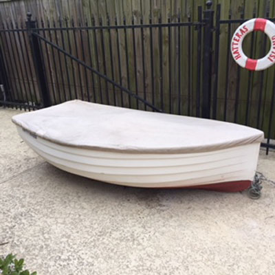 Fatty Knees 8' dinghy, 1984 sailboat