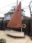 1984 Fatty Knees dinghy sailboat