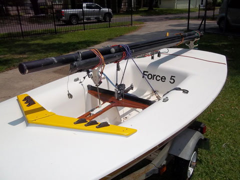 AMF Force Five with trailer, 1978 sailboat