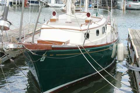 Fuji Ketch, 32' sailboat