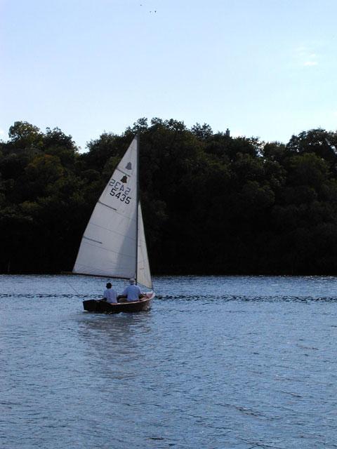 GP Jack Holt design dinghy, early 60s sailboat
