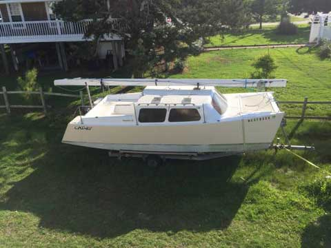 Custom catamaran by Mark Gumprecht, 2005 sailboat