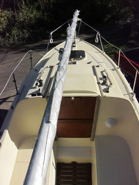 Halman 21, 1984 sailboat