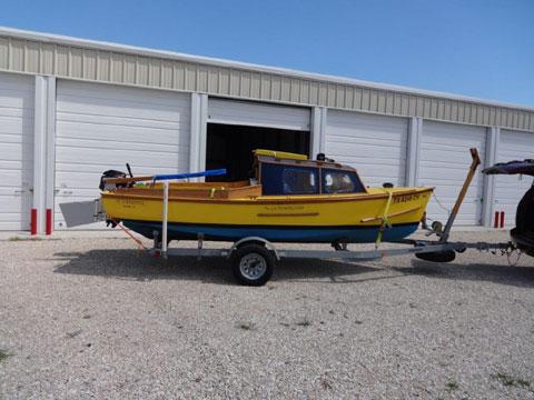 Hartley 18', 2014 sailboat