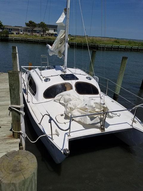 Hirondelle catamaran 24 ft., 1972 sailboat