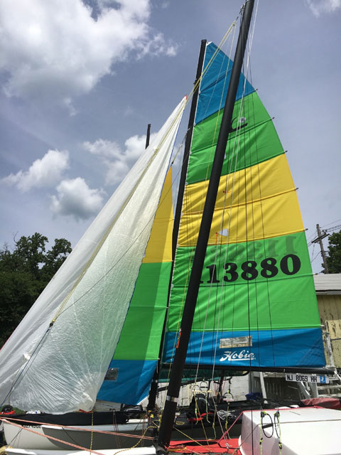 Hobie 16192 sailboat