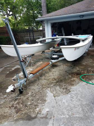 Hobie cat 16', 1975, Houston, Texas, sailboat for sale from