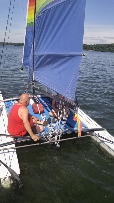 Hobie Cat 18, 1984 sailboat
