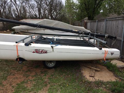 Hobie Miracle 20 sailboat