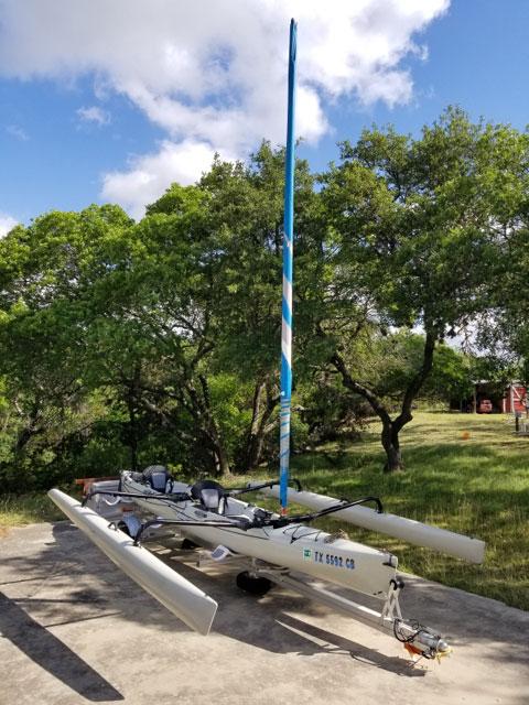 Hobie Tandem Island, 2013 sailboat