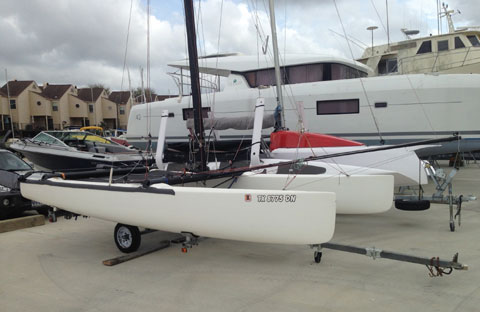 Hobie Tiger F18 Catamaran, 2004 sailboat