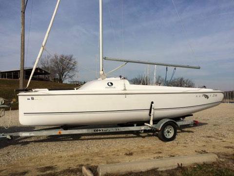 Hunter 216, 2008 sailboat