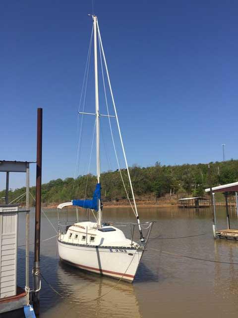 Hunter 25, 1983 sailboat