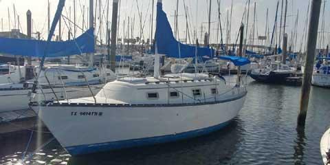 Hunter 27, 1980, sailboat
