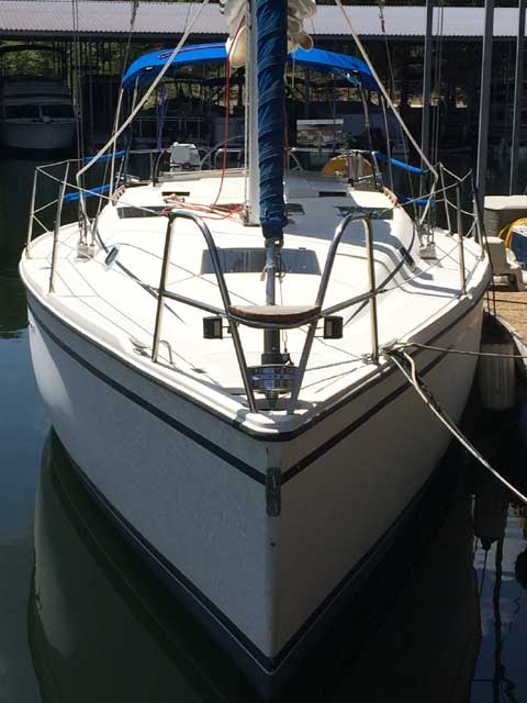 Hunter 33.5, 1988 sailboat