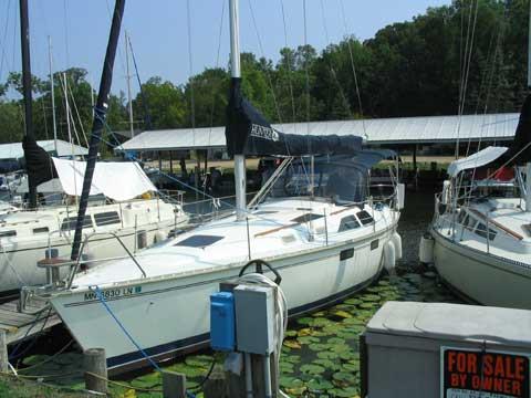 Hunter Legend 35.5, 1994 sailboat