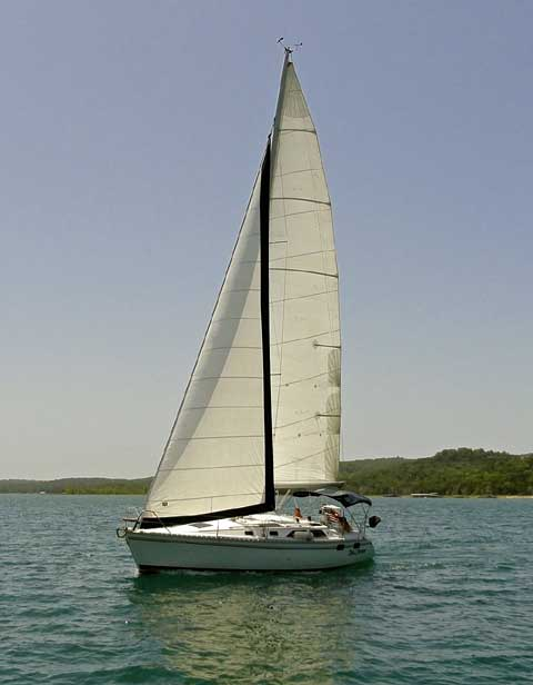 Hunter Legend 35.5, 1989 sailboat