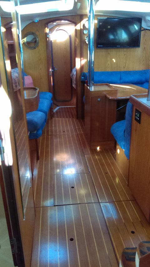 Hunter 410, 2000 sailboat
