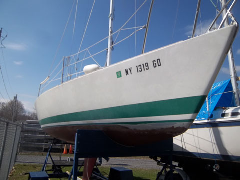 J-24, 1981 sailboat