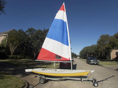 Laser, 1984 sailboat