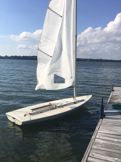 Laser, 1985 sailboat
