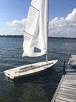 1985 Laser sailboat