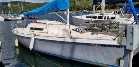 Laser 28, 1984 sailboat
