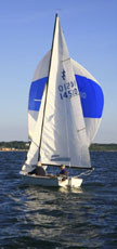 1991 Lightning 19 sailboat