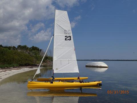 Little Wing 15.5 Sail Tri, 2005 sailboat