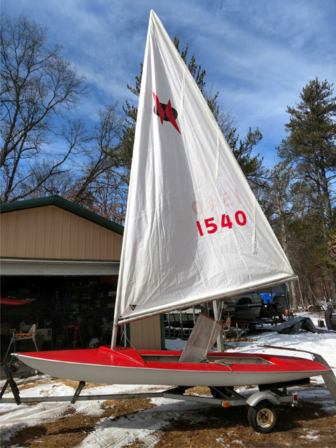 Chrysler Man O War, 1970s sailboat