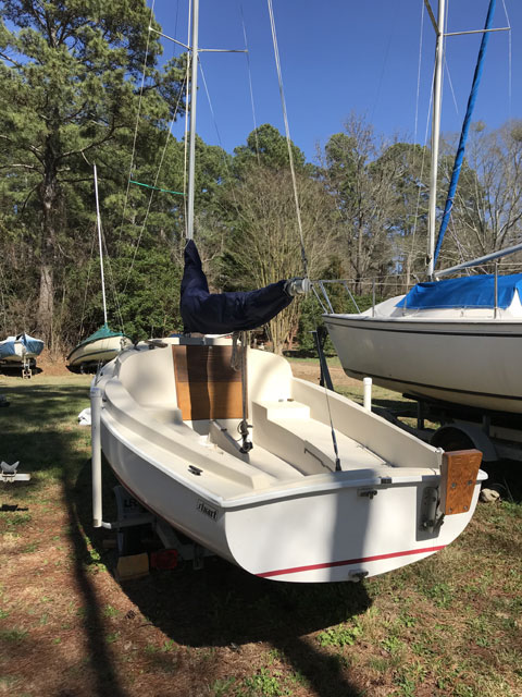 Stuart Marine Mariner 19, 1989 sailboat
