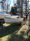 1989 Mariner 19 sailboat