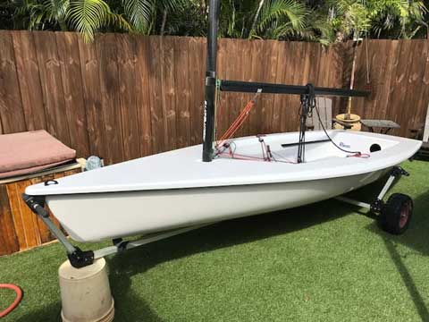 Megabyte 14', 2003 sailboat