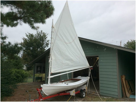 Melonseed Skiff, 2016 sailboat