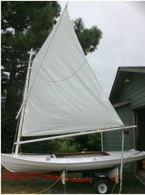 Melonseed Skiff, 2016 sailboat
