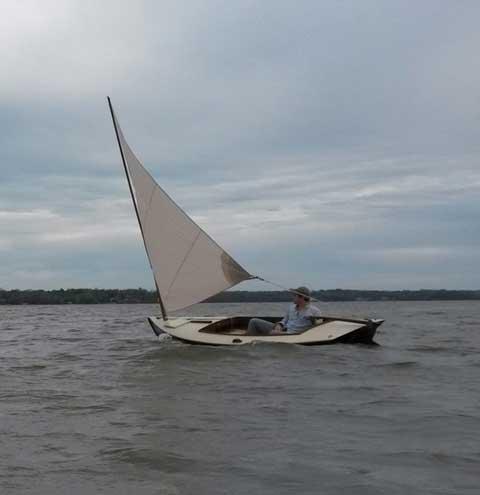 Melonseed Skiff, 1994 sailboat