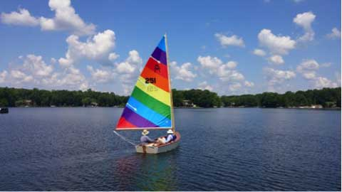 MerryMac with trailer, 2016 sailboat