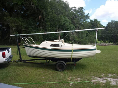 Montgomery 15', 1986 sailboat