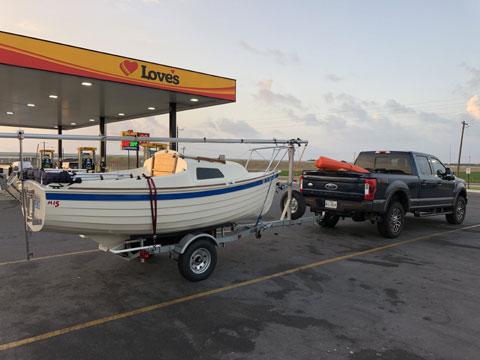 Montgomery 15, 2013 sailboat