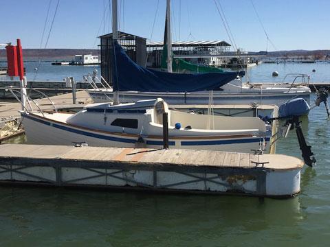 Montgomery 17, 2008 sailboat