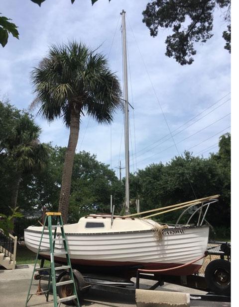Montgomery 17, 1979 sailboat