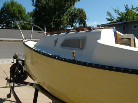 Montgomery 17, 1976 sailboat